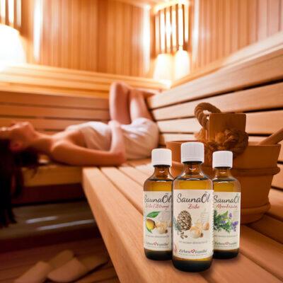 Zirbenöl Duft in Sauna